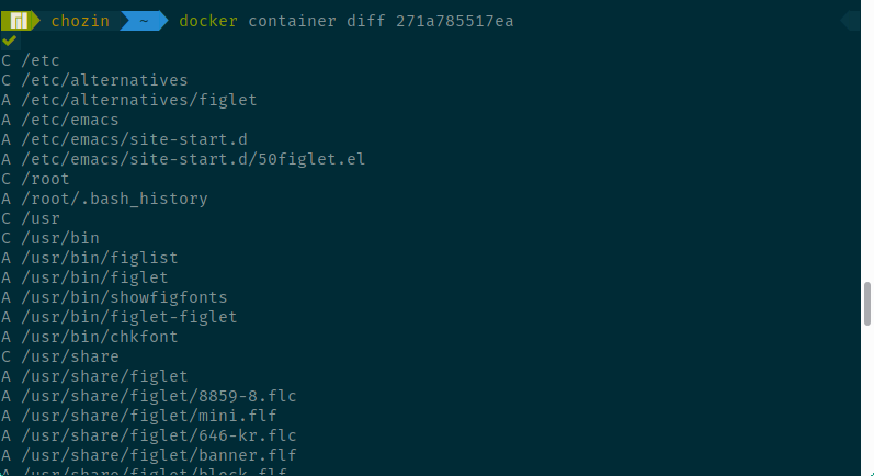 diff container
